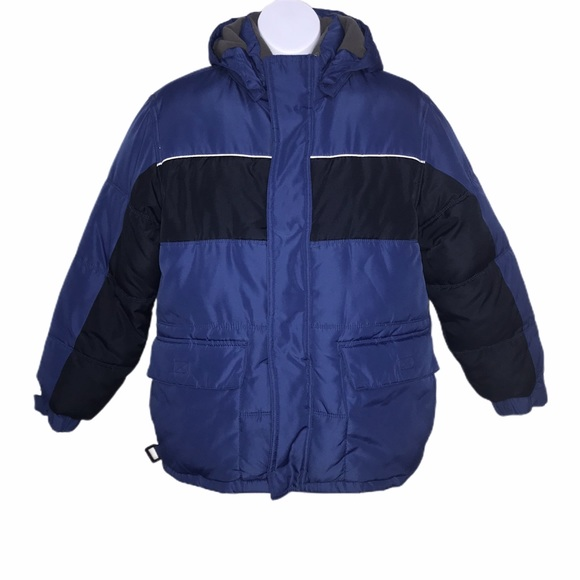 Old Navy Other - Old Navy Thick Blue Winter Coat Boy's Large 10-12